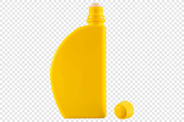 Yellow plastic bottle... — preview