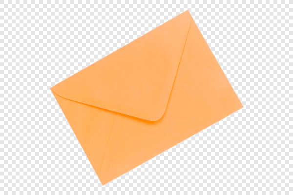 Orange envelope — preview