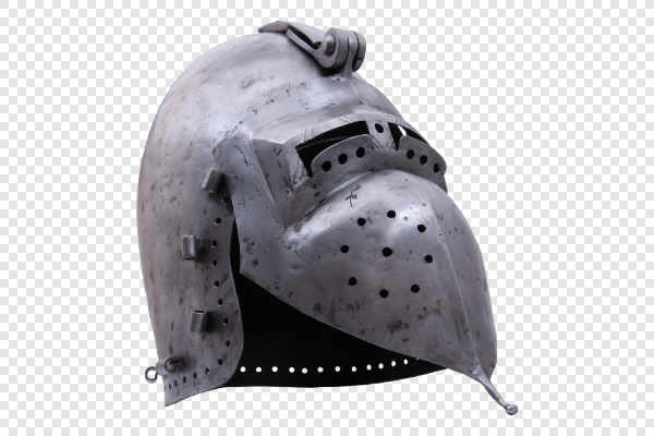 Knight helmet — preview