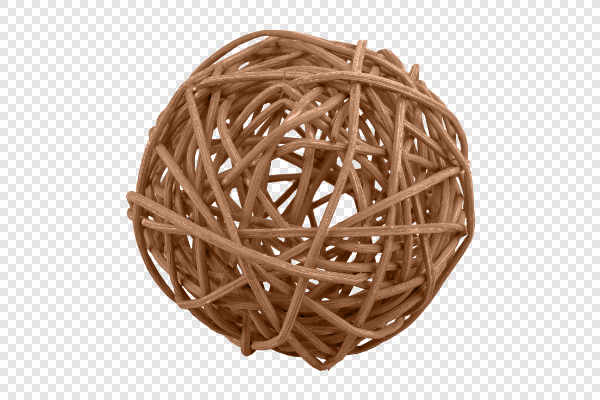 Wicker ball — preview