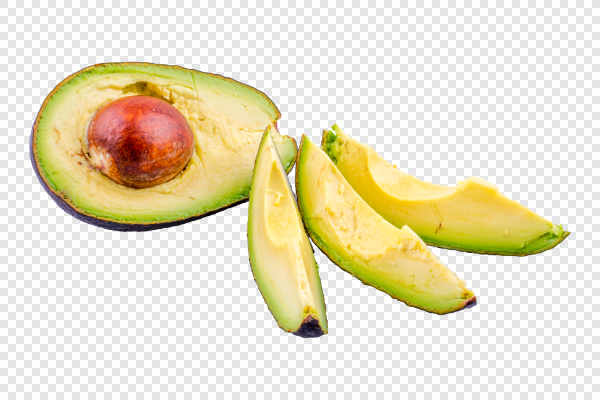 Cut avocado — preview