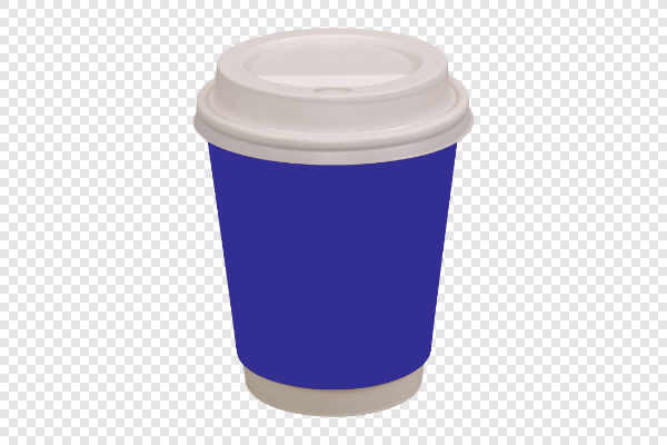 Violet coffee drinking cup — preview