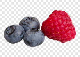 Raspberry and blueberries... — preview