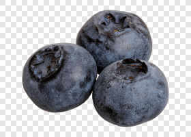 Three ripe blueberry... — preview