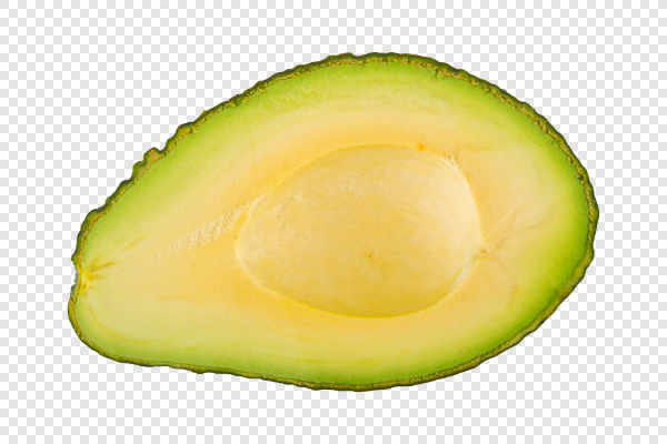 Half of cut avocado... — preview