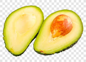 Two half of cut avocado... — preview