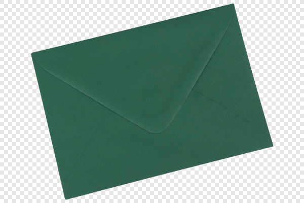 Green envelope — preview