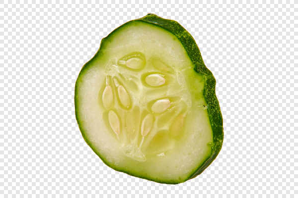 Ripe cucumber in a... — preview