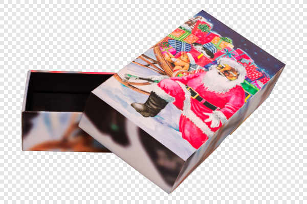 Box with Santa Claus — preview