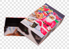 Box with Santa Claus... — preview