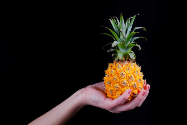 Small pineapple in... — preview