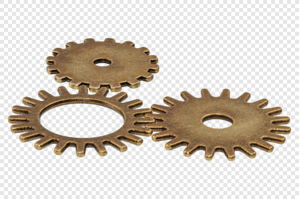 Brass gears — preview