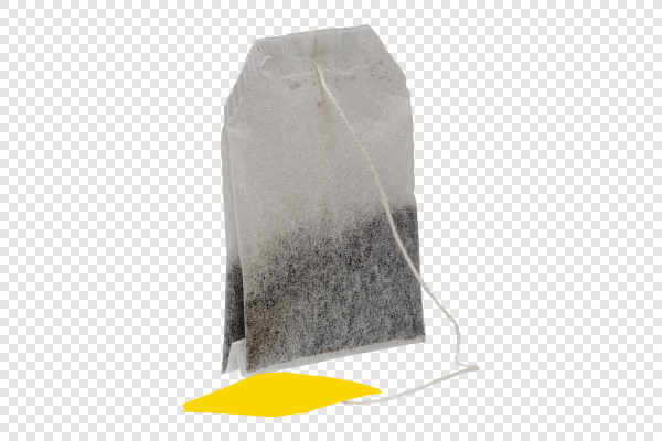 Teabag with yellow... — preview