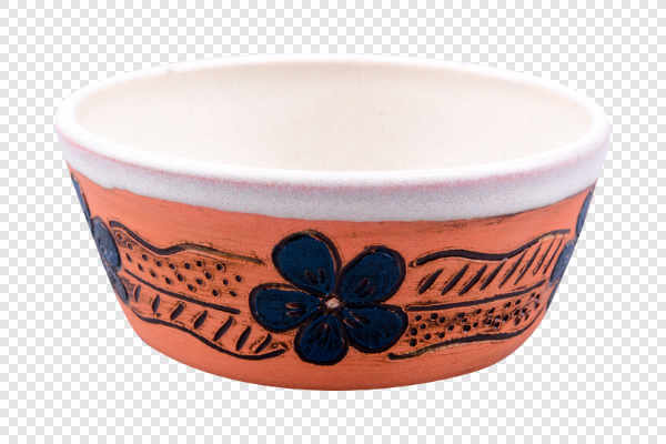 Clay bowl decorated... — preview
