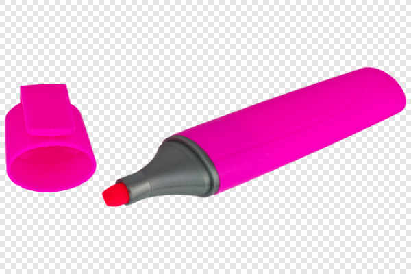 Pink highlighter — preview