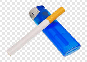 Blue lighter and cigarette... — preview