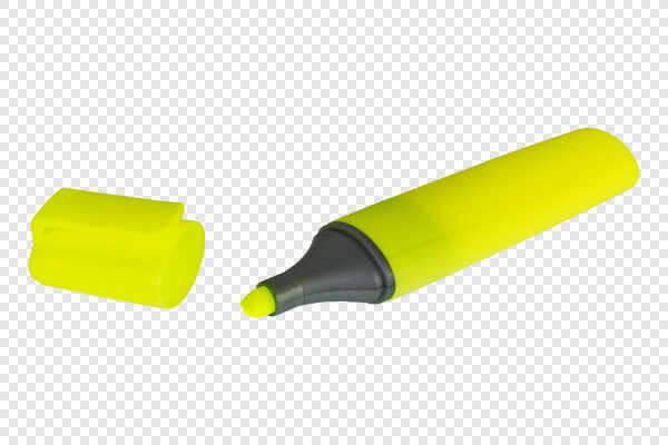 Yellow highlighter — preview
