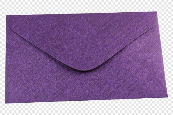 Violet envelope — preview