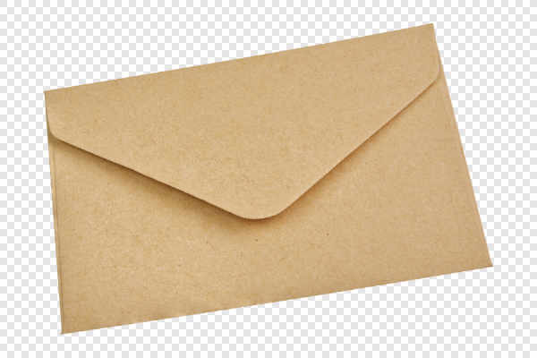 Beige envelope — preview
